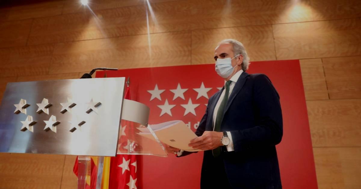 Британский штамм короновируса в Мадриде