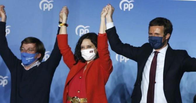 Подавляющая победа PP в Мадриде