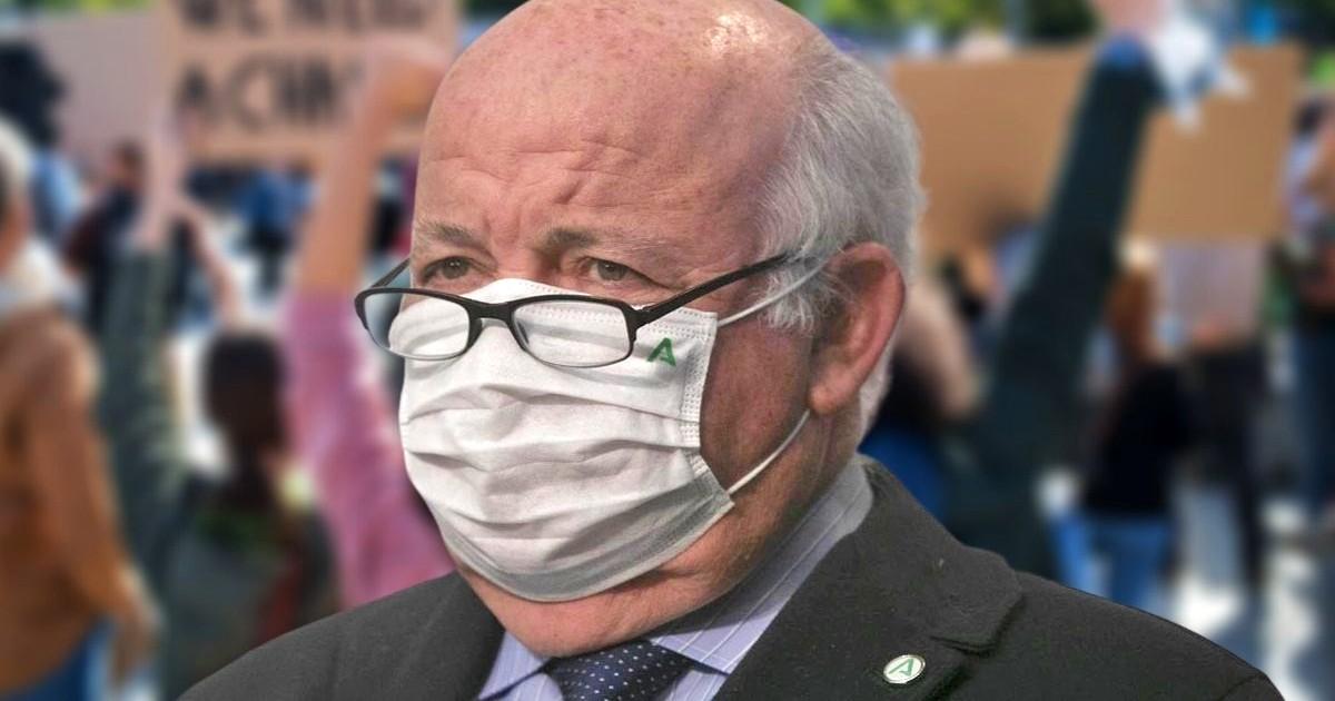Хунта Андалусии против отмены масок
