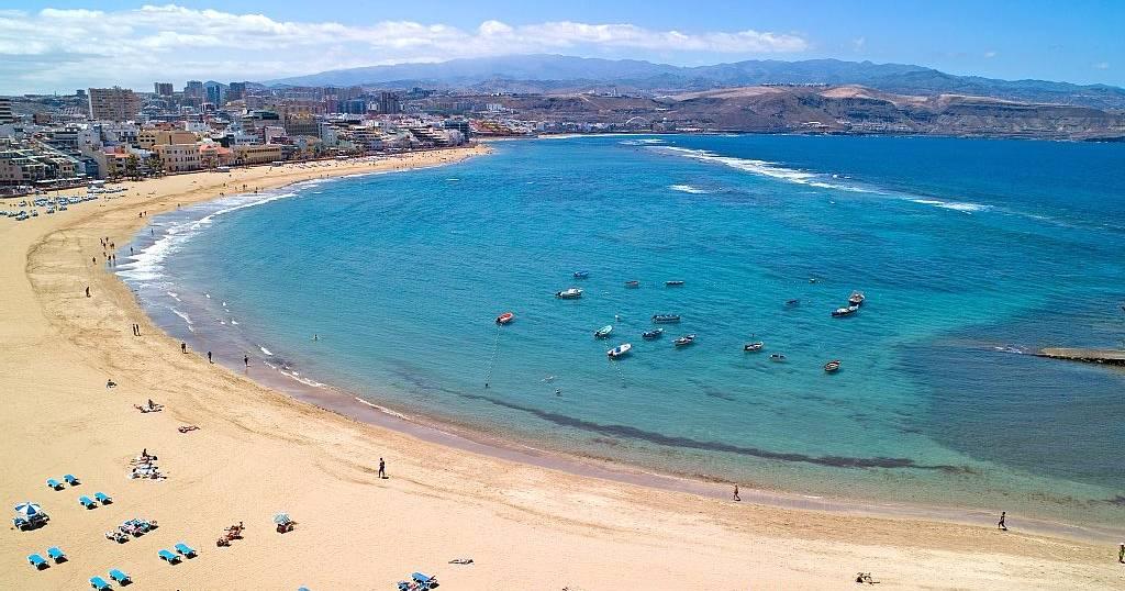 Лучший пляж на Канарах - Лас Кантерас на Лас Пальмас де Гран Канария