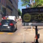 В Мадриде установили радар по замеру выхлопных газов на дорогах