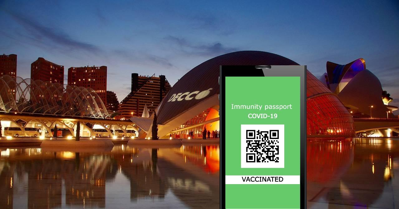 Жители Валенсии уже могут получить сертификат COVID Digital de la UE для поездок по ЕС