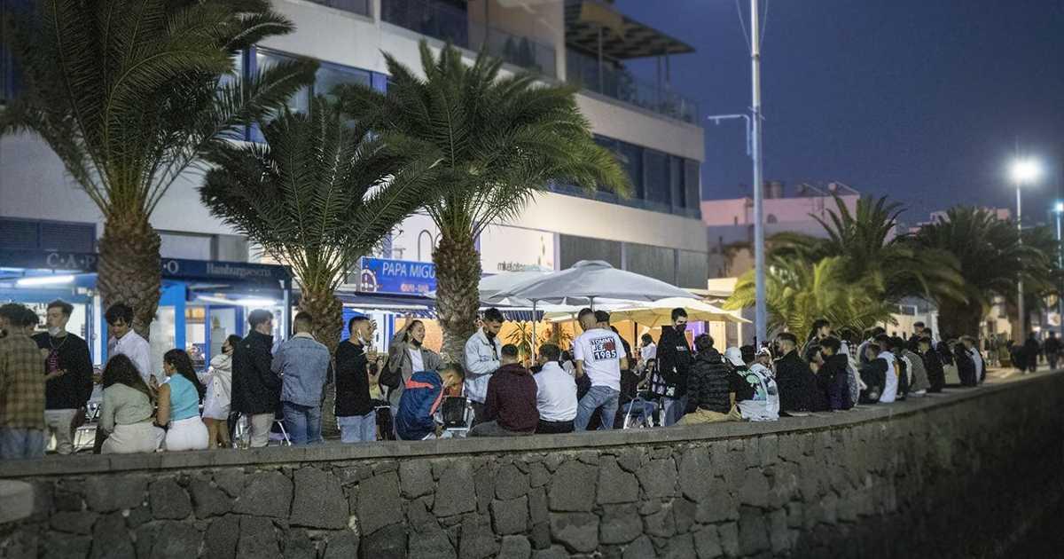 В столице острова Lanzarote не хватает агентов полиции для пресечения botellones