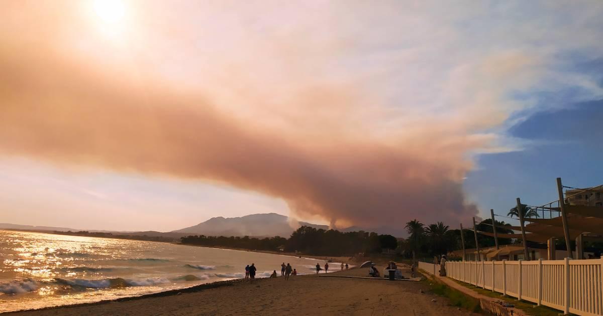 Пожару на Коста дель Соль присвоен второй уровень опасности
