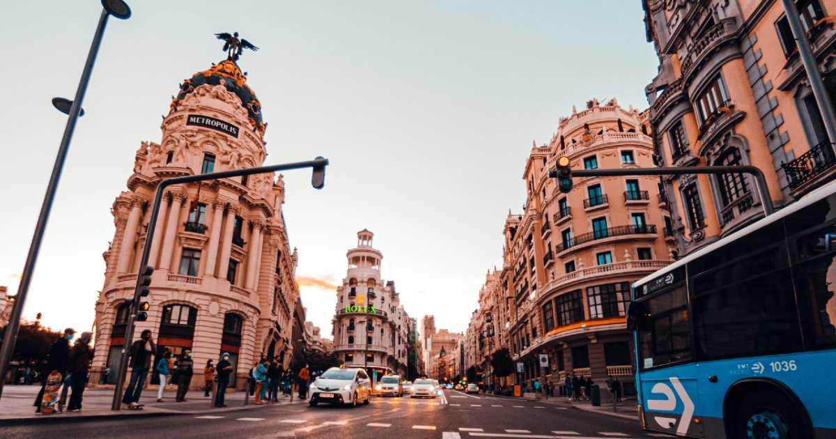 Новые правила дорожного движения в Мадриде вступают в силу со среды