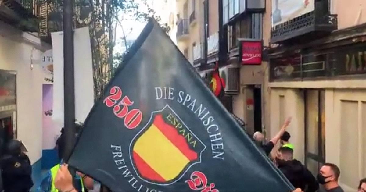 В субботу в Мадриде прошел марш крайне правых с гомофобными лозунгами