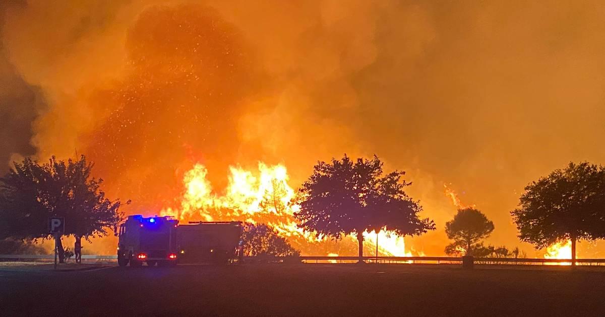 Из-за пожаров на Коста дель Соль эвакуировано 400 человек