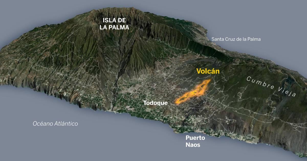 Извержение вулкана на Канарах может спровоцировать цунами