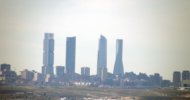 Запах гари в нескольких районах Мадрида