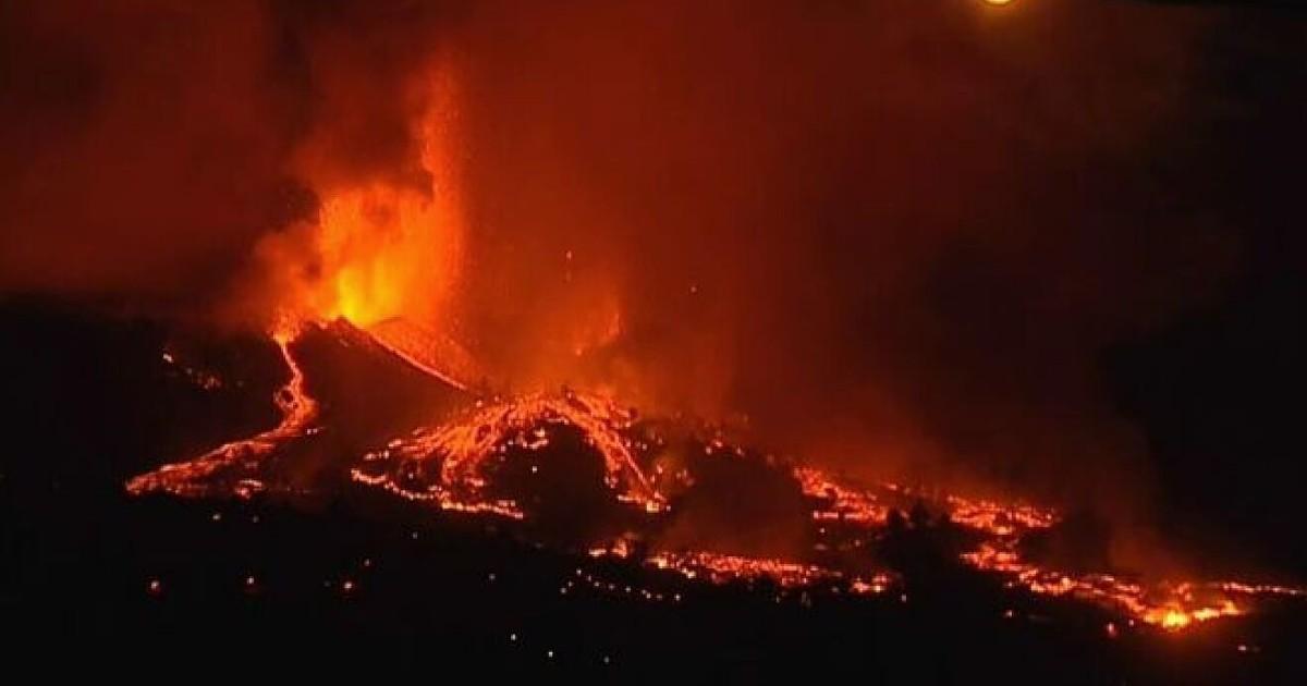 Прошла неделя со дня извержения вулкана Ла Пальма