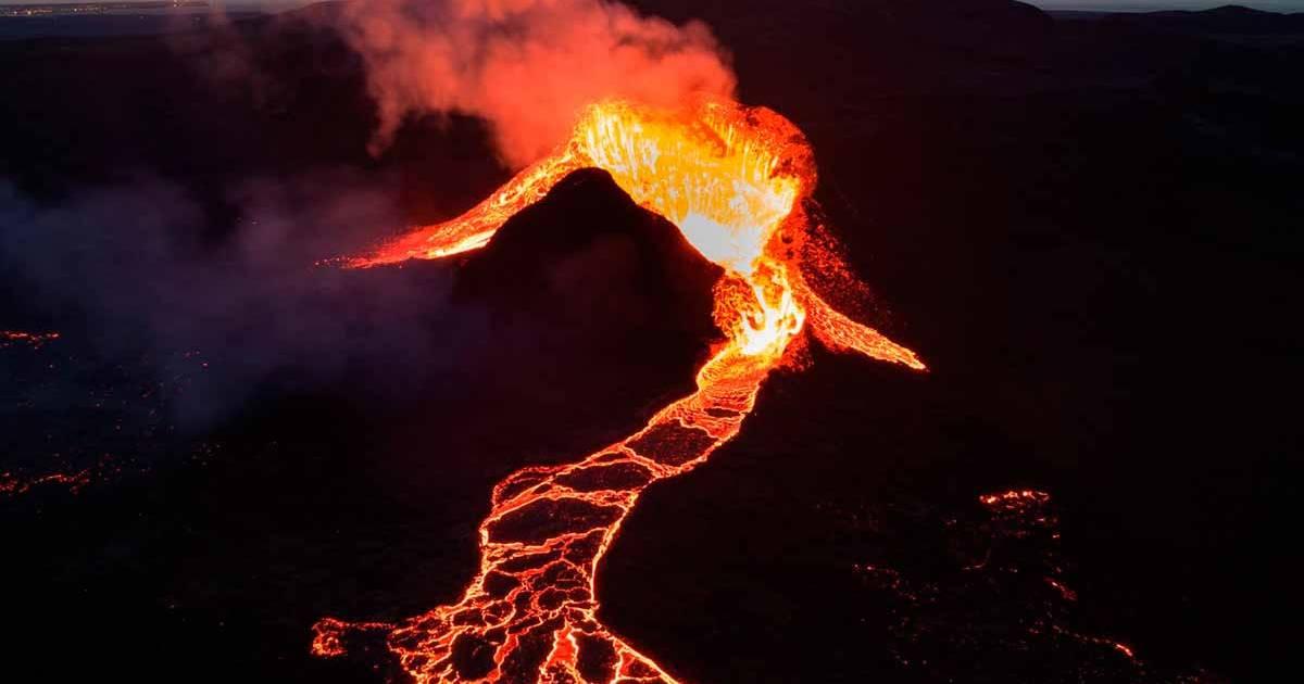Конец извержения вулкана на Ла Пальма наступит не скоро